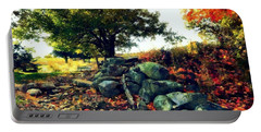 Autumn Orchard Portable Battery Charger by Janine Riley