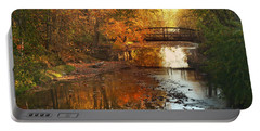 Autumn Over Furnace Run Portable Battery Charger