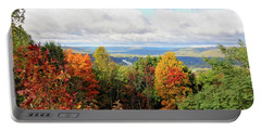 Autumn Overlook Portable Battery Charger by Trina Ansel
