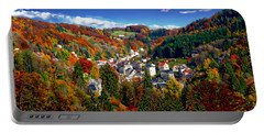 Autumn Panorama Portable Battery Charger