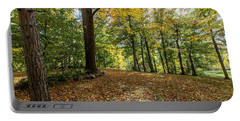 Autumn Park  Portable Battery Charger