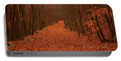 Autumn Passage Portable Battery Charger by Raymond Salani III