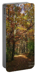 Autumn Path At St Croix Bluffs Portable Battery Charger