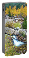 Portable Battery Charger featuring the photograph Autumn Peace by Gary Lengyel