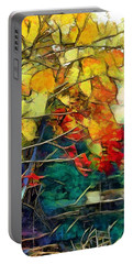 Portable Battery Charger featuring the digital art Autumn by Pennie McCracken
