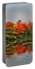 Autumn Portrait Portable Battery Charger by Kathleen Sartoris
