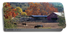 Autumn Ranch Portable Battery Charger