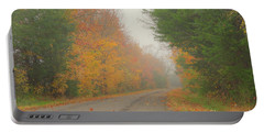 Autumn Roads Portable Battery Charger