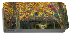 Autumn Serenity Portable Battery Charger