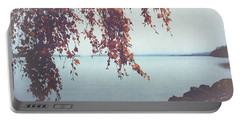 Portable Battery Charger featuring the photograph Autumn Shore by Ari Salmela