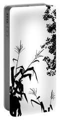 Autumn Silhouette Portable Battery Charger