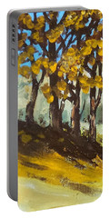 Autumn Sketch Portable Battery Charger by Jim Phillips