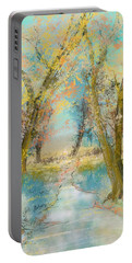 Autumn Sketch Portable Battery Charger