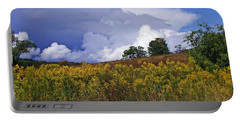 Autumn Skies Portable Battery Charger