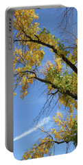 Autumn Sky Trails Portable Battery Charger