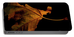 Autumn Solitary Leaf Portable Battery Charger