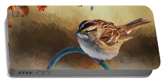 Autumn Sparrow Portable Battery Charger