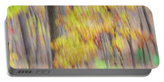 Portable Battery Charger featuring the photograph Autumn Splendor by Bernhart Hochleitner