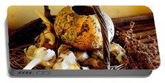 Autumn Still Life Portable Battery Charger