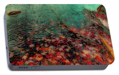 Portable Battery Charger featuring the photograph Autumn Submerged by David Patterson