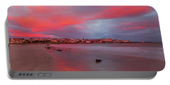 Portable Battery Charger featuring the photograph Autumn Sunrise by Roy McPeak