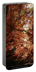 Autumn Sunshine Poster Portable Battery Charger