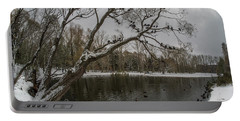 Portable Battery Charger featuring the photograph Autumn Time 2 by Vladimir Kholostykh