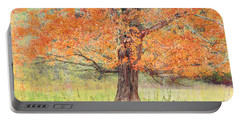 Portable Battery Charger featuring the photograph Autumn Tree by Geraldine DeBoer