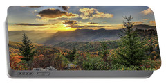 Autumn Warmth Blue Ridge Moutains Portable Battery Charger