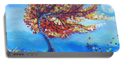 Autumn Whisper Portable Battery Charger