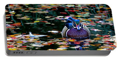 Autumn Wood Duck Portable Battery Charger