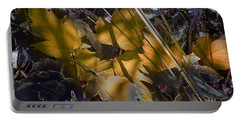 Portable Battery Charger featuring the digital art Autumn Yellow by Stuart Turnbull