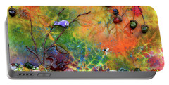 Autumnal Enchantment Portable Battery Charger by Donna Blackhall