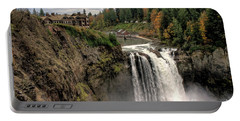 Portable Battery Charger featuring the photograph Autumnal Falls by Chris Anderson