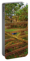 Portable Battery Charger featuring the photograph Autumnal Orchard by Anne Kotan