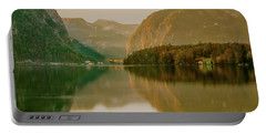 Portable Battery Charger featuring the photograph Autumnal Reflections  by Geoff Smith