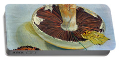 Autumnal Still Life, Portable Battery Charger by Tilly Willis