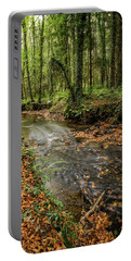Autumnal Stream Portable Battery Charger