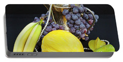 Portable Battery Charger featuring the photograph Symphony Of Forbidden Fruits by Silva Wischeropp