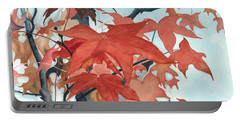 Autumn's Artistry Portable Battery Charger by Barbara Jewell