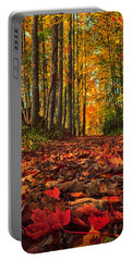 Autumn's Walkway Portable Battery Charger