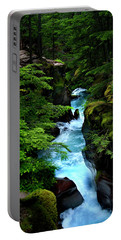 Avalanche Creek Waterfalls Portable Battery Charger