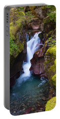 Portable Battery Charger featuring the photograph Avalanche Gorge 4 by Gary Lengyel