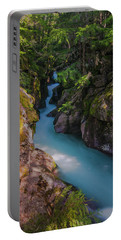Portable Battery Charger featuring the photograph Avalanche Gorge 5 by Gary Lengyel