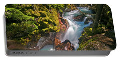 Portable Battery Charger featuring the photograph Avalanche Gorge by Gary Lengyel