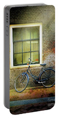 Portable Battery Charger featuring the photograph Avancer Bicycle by Craig J Satterlee