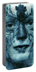 Avatar Portrait Portable Battery Charger by Odon Czintos