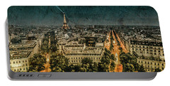Paris, France - Avenue Kleber Portable Battery Charger