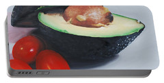 Avocado And Cherry Tomatoes Portable Battery Charger