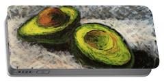 Avocado Study 1 Portable Battery Charger